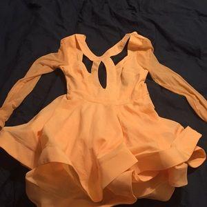 Skater dress.